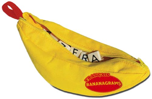 Bananagrams French Word Board Game