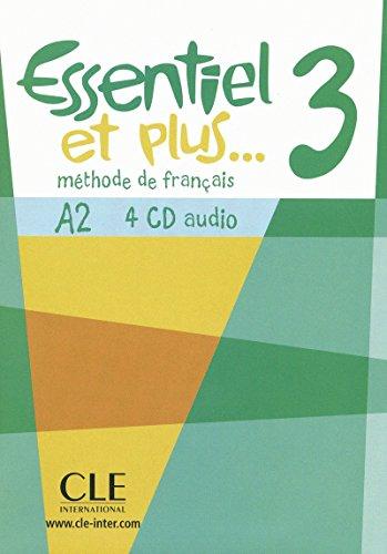 Cd audio collectif essentiel et plus 3 (METHODE ESSENTIEL ET PLUS)