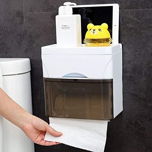 Badkamer Rollade 1 Stks Toilet Papier Handdoek Doos Huishoudelijke Toilet Pomp Doos Gratis Punch Wandopknoping Rack Badkamer Opslag Cafe