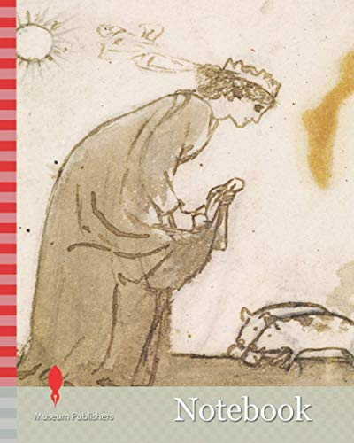 Notebook: Ladies and Animals Sideboard, Good and Bad Animals, Study of a Lady Feeding Pigs By Sir Edward Burne-Jones, Sketch, Pre-Raphaelite, Pig