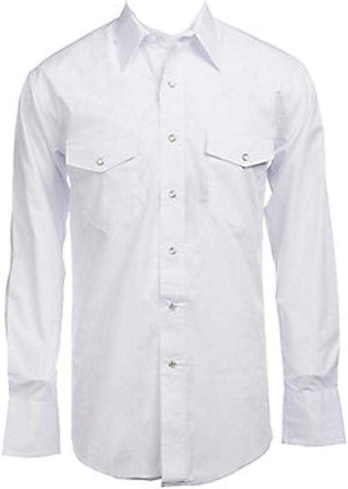 Panhandle Cotton Men's Dress Shirt White 2XL