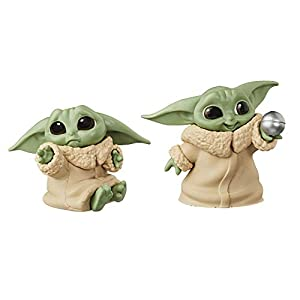 "STAR WARS The Bounty Collection The Child Collectible Toys 2.2-Inch The Mandalorian ""Baby Yoda"" Don't Leave, Ball Toy… - 41TmsXSVzCL - STAR WARS The Bounty Collection The Child Collectible Toys 2.2-Inch The Mandalorian ""Baby Yoda"" Don't Leave, Ball Toy…"