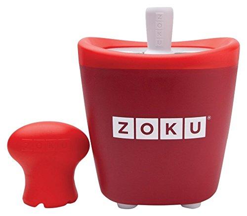 Zoku ZK110-RD Pop Maker Sorbetière Instantanée Rouge