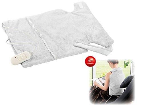 Wilson Gabor Rückenwärmer elektrisch: Wärmekissen, Heizdecke für Rücken, Nacken, Schulter, 45 Watt (Beheizbarer Rückenwärmer)