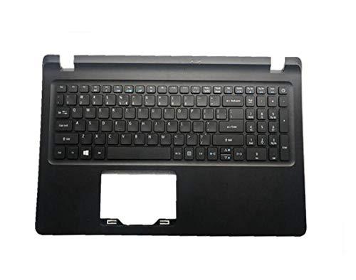 HuiHan Replacement for Acer Aspire ES1-572 ES1-523 ES1-532 ES1-533 US Keyboard Palmrest Upper Case