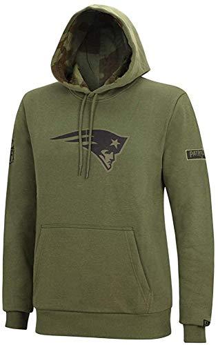 New Era NFL Camo Large Print Hoody Herren New England Patriots Khaki, Größe:XL