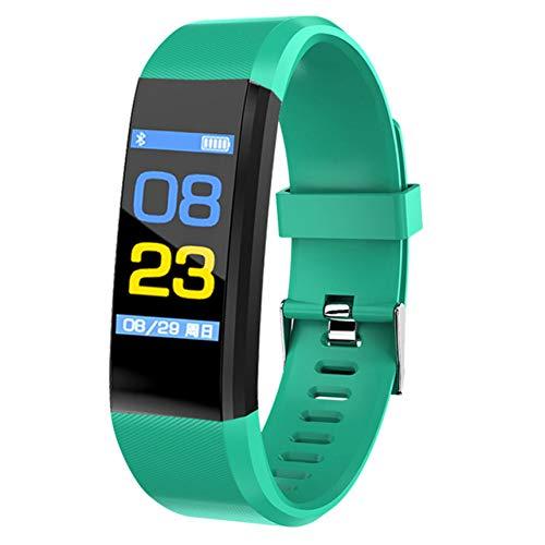 RQMQRL Reloj Inteligente Hombres Mujeres Monitor De Ritmo Cardíaco Presión Arterial Gimnasio...