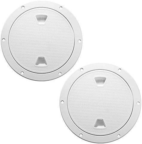 2 PCS White Access Hatch 2021 new Cover Deck Detachable Out Plate C Cheap SALE Start Screw