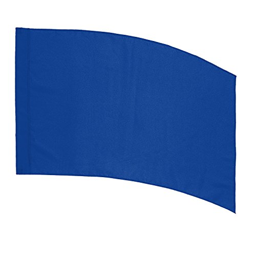 DSI Color Guard Practice Flag (PCS) - Curved Rectangle - Royal Blue