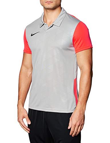 NIKE M Nk Trophy IV JSY SS Camiseta Jersey, Hombre, Gris (Pewter Grey/Bright Crimson/Black), S