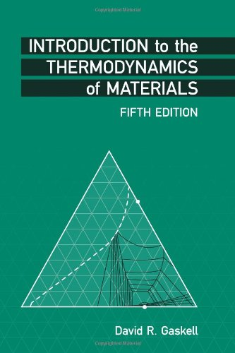 Price comparison product image Introduction to the Thermodynamics of Materials