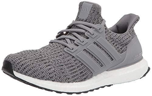 adidas Men's Ultraboost DNA Running Shoe, Grey/Grey/Black, 10