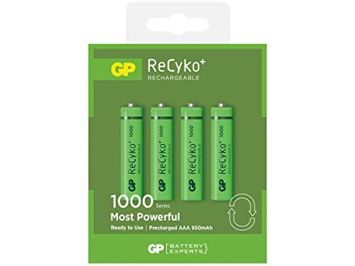 GP Akku AAA 950mAh (Micro, HR 03, NiMH, 1,2V, 4er Pack), Verpackung kann variieren
