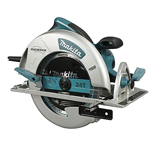 Circular Saw,8-1/4 In. Blade,5200 rpm