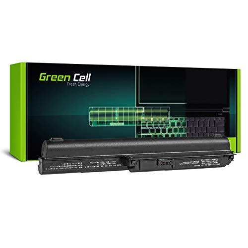Green Cell Batería para Sony Vaio SVE1513X9RB SVE1513Y1ESI SVE1513Z1EB SVE1513Z1RB SVE151E11M SVE151E11T SVE151E13T SVE151G13M SVE151G13T SVE17 SVE17115FG Portátil (6600mAh 10.8V Negro)