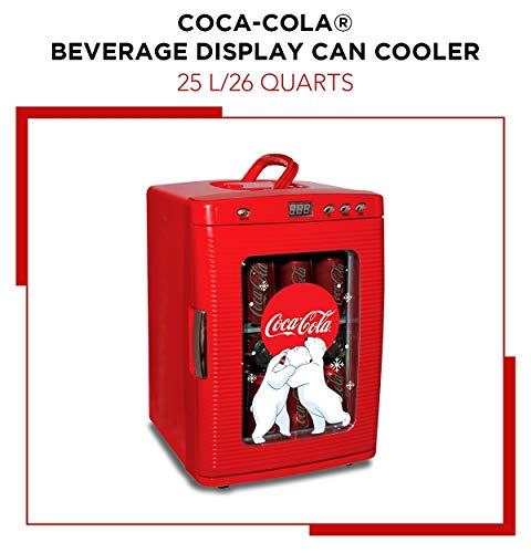 コカコーラ デザインミニ冷蔵庫  LEDディスプレイ