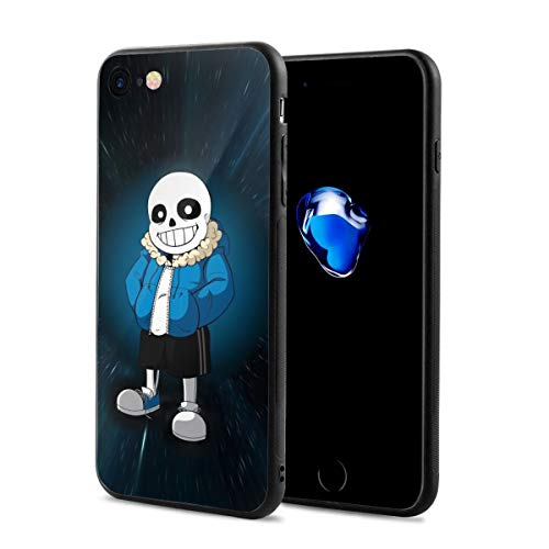 Hhill Swater Undertale Fashion iPhone 7/8 Case,iPhone 8 Case,iPhone 7 Case Slim Soft Shockproof Case
