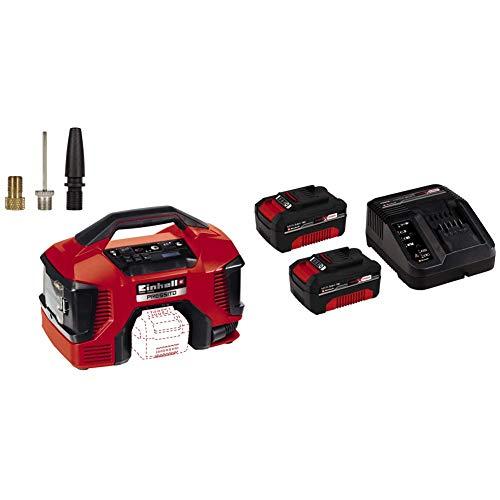 Einhell Compressore a batteria TE-AC 36/6/8 Li OF Set Power X-Change, Li-Ion, 2x 18 V, max. 8 bar,...
