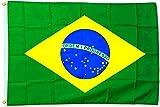 Fahne Flagge Brasilien 30 x 45 cm [Spielzeug]