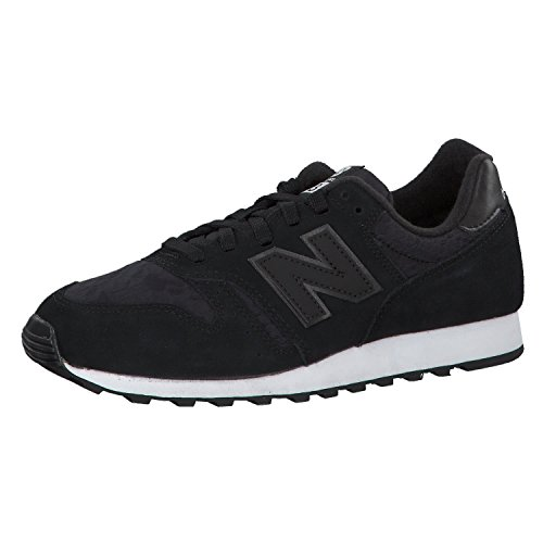 New Balance 373, Zapatillas de Deporte Unisex Adulto, Negro (Negro Wl373kaw), 38 EU