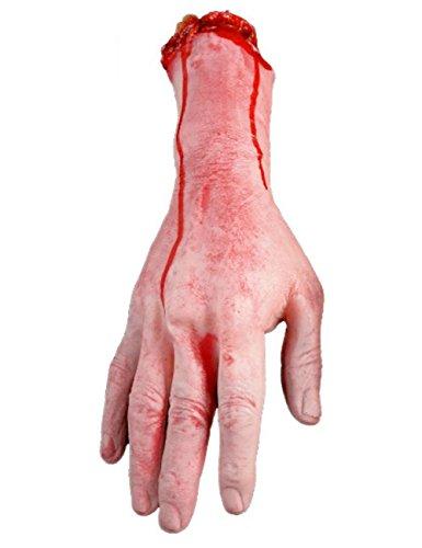 THEE Horror Blut Realistische Prothese Getrennten Arm Gebrochenen Hand Fuß Streich Trick Halloween Party Geisterhaus Dekoration