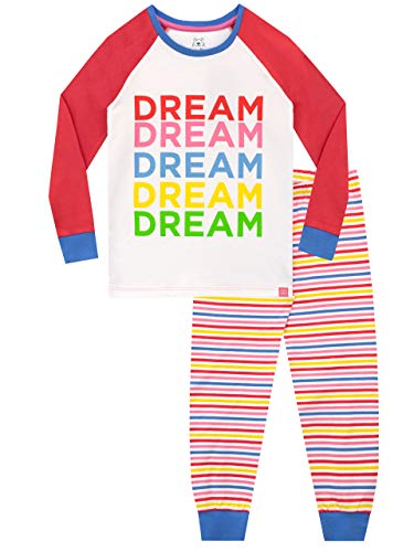 Harry Bear Mädchen Schlafanzug Slim Fit Regenbogenträume Mehrfarbig 146