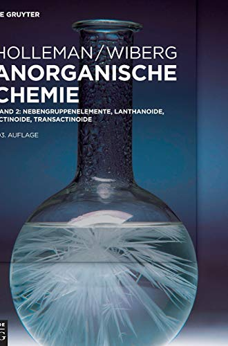 Nebengruppenelemente, Lanthanoide, Actinoide, Transactinoide (Holleman • Wiberg Anorganische Chemie)