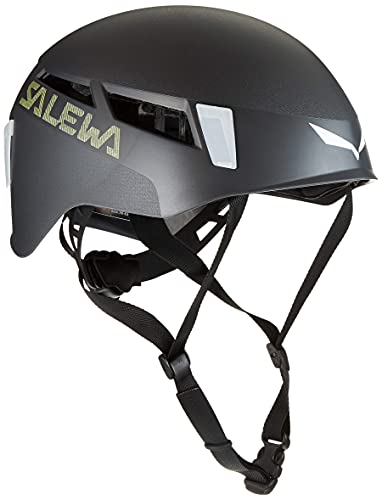 SALEWA Pura Unisex Helm, Dunkelgrau, L/XL(56-63cm)