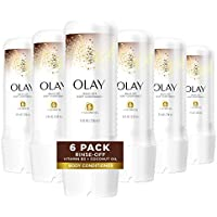 6-Pack 8oz Olay In-Shower Rinse-Off Body Conditioner for Dry Skin
