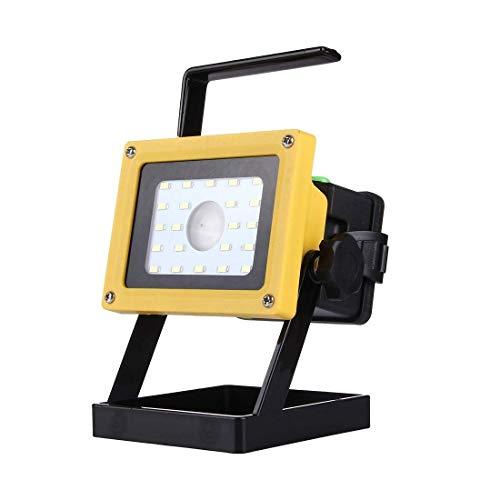 Allamp 10W 900LM Vida Impermeable 22 LED SMD 5730 + T6 de Mano del Reflector de la lámpara, Linterna AC 100-250V Iluminación