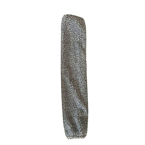 Haihui Cepillo retráctil plano para eliminar el polvo con mango largo, extraíble y lavable, absorción electrostática, cubierta de microfibra