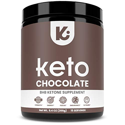 KEPPI Exogenous Ketones Chocolate BHB Powder Supplement: BHB Chocolate Ketones Formulated to Increase Energy, Burn Fat, Maintain Ketosis and Mental Focus