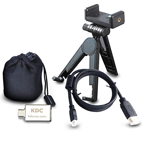 Zubehör Set für UO Smart Beam Laser, Micro HDMI Kabel, Stativ und Halterung, Tasche–kdcusa
