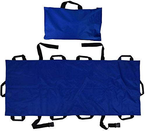 GLJY Tragbarer Transport Notrettung Weiche Trage Lift Transfer Aid Krankenhausklinik Leinwand Oxford Stoff Faltbare Weiche Trage mit 10 Griffen