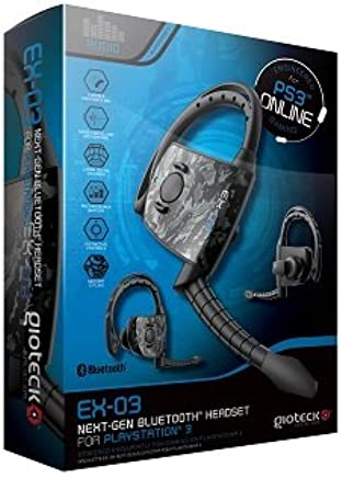 Amazon.com  Gioteck EX03 Bluetooth Headset for PS3  Video Games aafd689dca82a