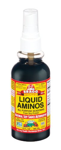 Bragg Liquid Aminos, Alternative to Tamari & Soy Sauce, 6 fl oz (180 ml) 2.1 x 2.1 x 6.5 inches