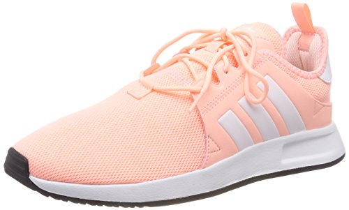 adidas X_PLR J, Zapatillas Unisex Niños, Naranja (Clear Orange/Footwear White/Footwear White 0), 38 EU