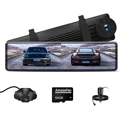 AmazeFan Dash Cam,NT880 Autokamera Front...