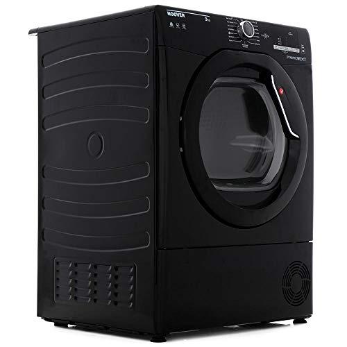 Hoover DXC9DGB Dynamic Next 9kg Freestanding Condenser Sensor Tumble Dryer - Black
