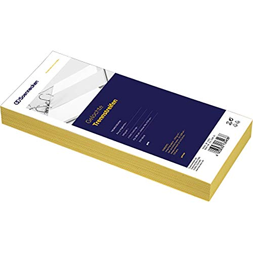 SOE Trennstreifen 01593 gelb 10,5x24cm Pa=100St