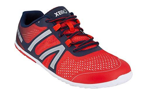 Xero Shoes HFS - メンズ 軽量 裸足風 ミニマリスト ロード ランニング フィットネスシューズ ゼロドロップスニーカー US サイズ: 24.5 カラー: レッド