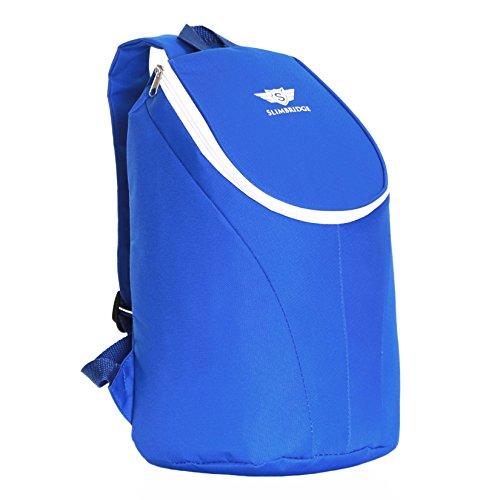 Slimbridge Sac à Dos Isolé Pique-Nique 38 cm 15 litres 300 grammes, Seatown Bleu