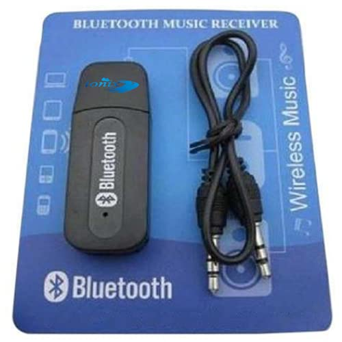 Ionix bluetooth receiver, bluetooth transmitter, bluetooth receiver for home theatre, bluetooth audio receiver, bluetooth device, V2.1 bluetooth receiver for car 3.5mmMusic Audio Receiver, 1 aux cable