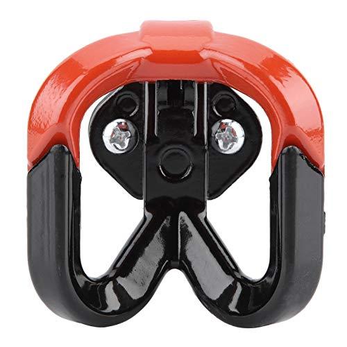 Gancho universal para scooter de motocicleta, gancho para equipaje, gancho para bolsa colgante, gancho de garra para bicicleta de tierra, bicicleta eléctrica, gancho para casco, aleación de aluminio