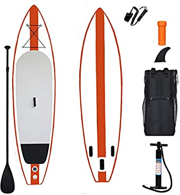 """YX Inflatable 11'×33""""×6"""" SUP for All Skill Levels Everything Included with Stand Up Paddle Board More Capability and Durable"""