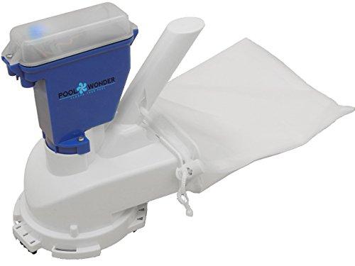 Limpiafondos manual para piscinas con batería litio recargable Poolwonder v2 aspirador para piscinas