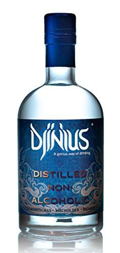 Djinius Distilled non alcoholic Wacholder alkoholfrei 0,0% vol. (1 x 0,7l)