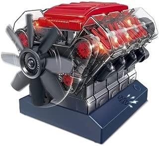 Amazing Toys Stemnex V8 Model Engine | Build Your Own Transparent Plastic Model of a Working V8 Combustion Engine | 270 Components
