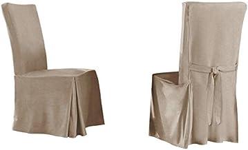 غطاء ناعم من الجلد السويدي المريح من سيرتا لكرسي الطعام