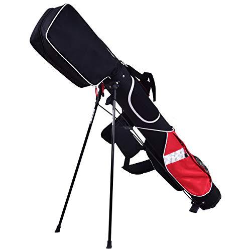 GYMAX Golf Stand Lightweight Bag